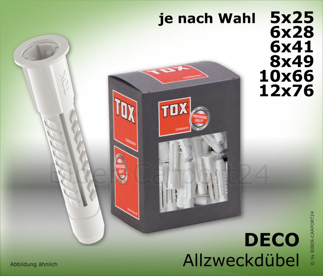 tox deco allzweckd bel 4as k made in germany. Black Bedroom Furniture Sets. Home Design Ideas