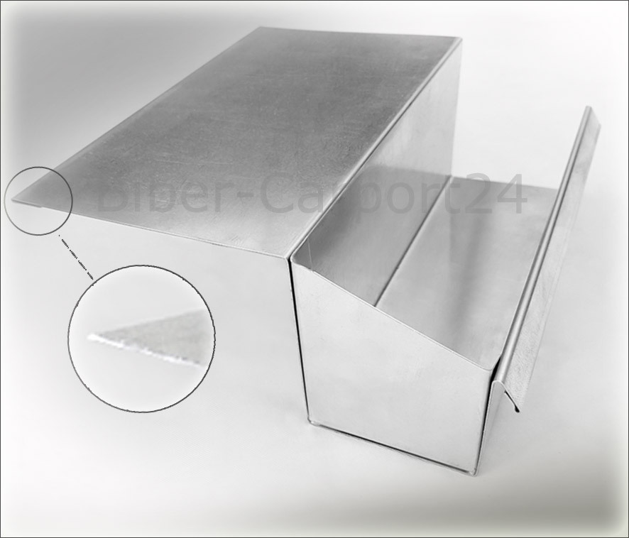 kastendachrinne alu. Black Bedroom Furniture Sets. Home Design Ideas