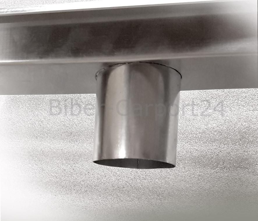 kastenrinne inkl gef lle endst cken stutzen verbinder 2m. Black Bedroom Furniture Sets. Home Design Ideas