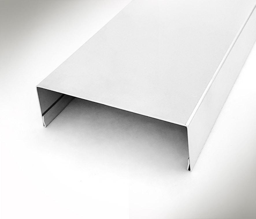 Nr85 U Profil Mauerabdeckung 1 2m Alu Oder Titanzink Profil