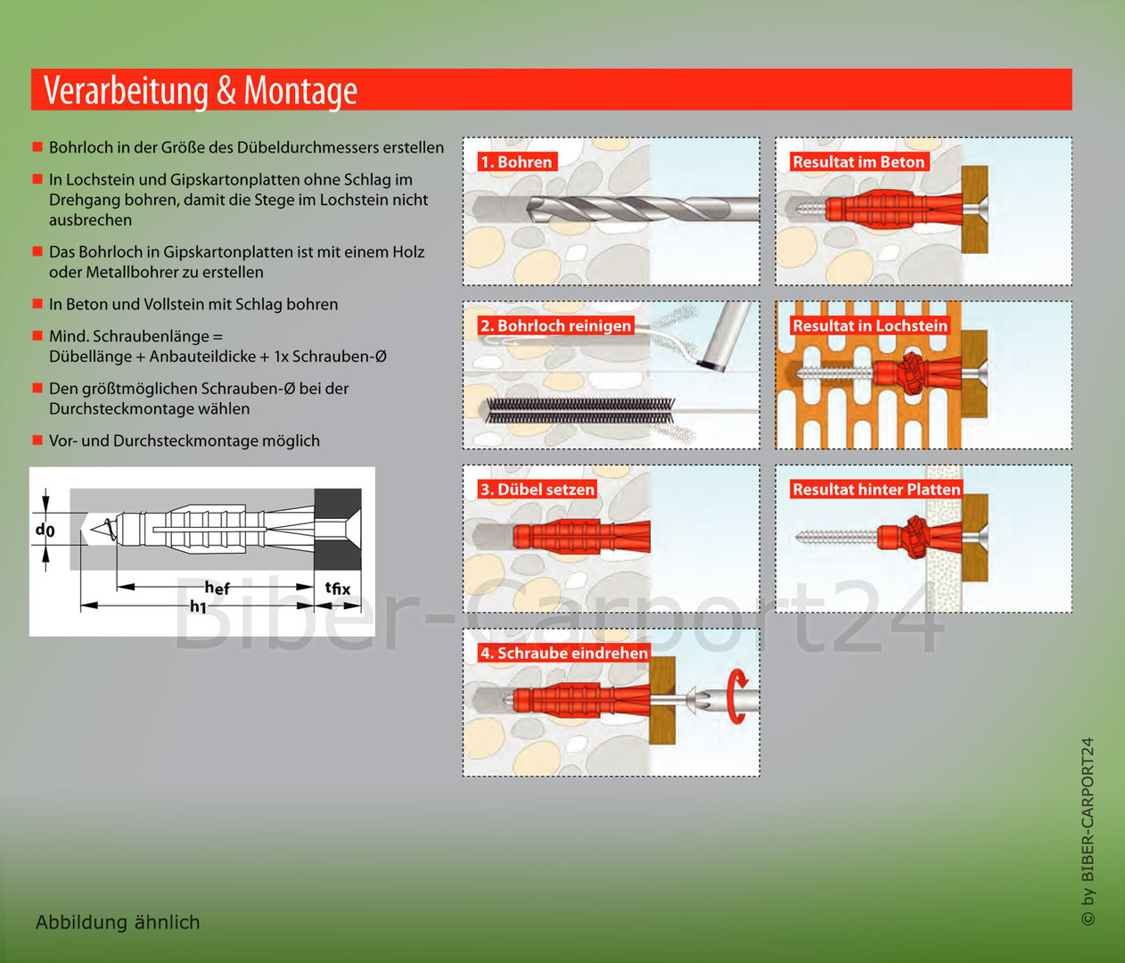 Tox Tri Allzweckdubel Verschiedene Grossen Made In Germany