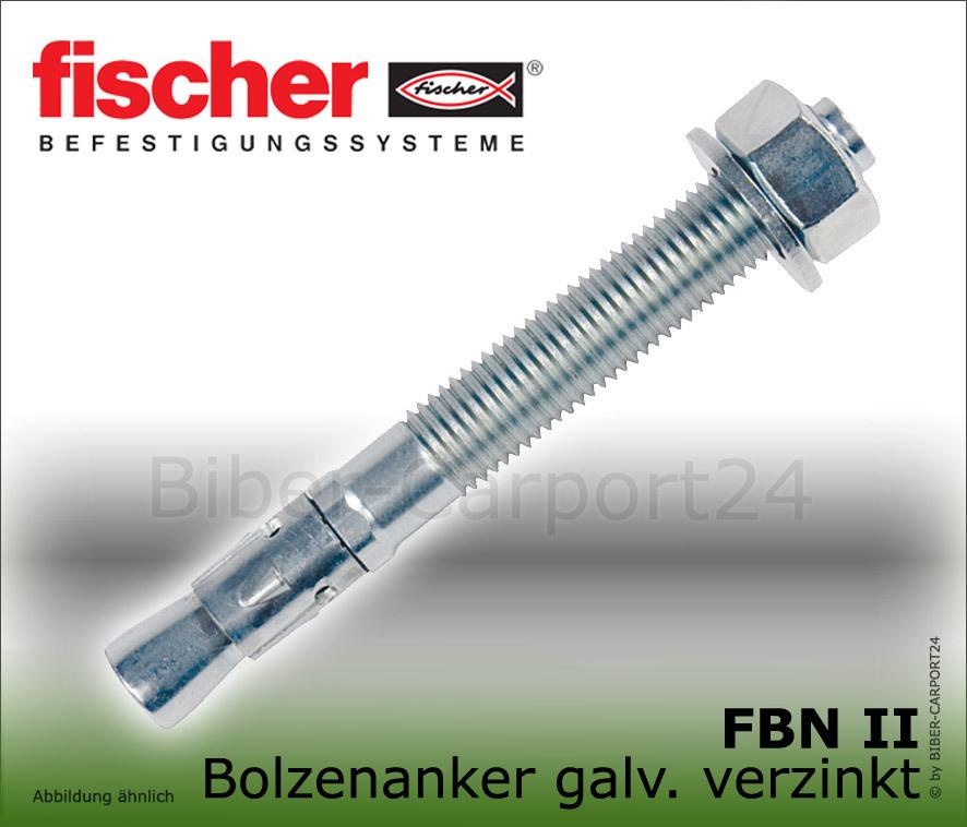 Fischer Bolzen FBN II 8//5 K 50 Stück